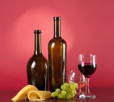 Free Red Wine Royalty Free Stock Photography - 23439787