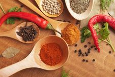 Free Spices Stock Photo - 23439850