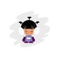 Free Eskimo Kid Illustration Stock Image - 23441601