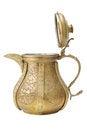 Free Ancient Ornamental Teapot, Jug On White Stock Photo - 23449580