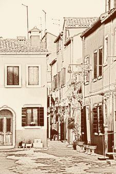 Free Burano Royalty Free Stock Photo - 23442205