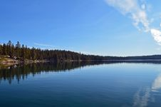 Free Oregon S Crescent Lake In The Winter Stock Images - 23444774