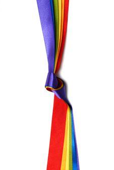 Free Rainbow Flag Stock Image - 23445331