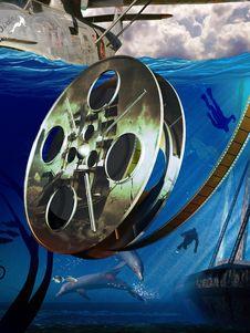 Free Adventure Movie Royalty Free Stock Photo - 23446065