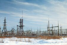 Free Power Plant Stock Photography - 23446152