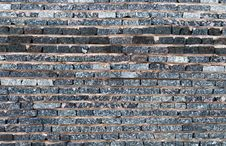 Granite Wall Stock Photo
