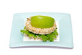 Free Gramineae Crispbread With Salad Leaves And Apple Stock Photo - 23458950