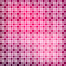 Abstract Tile Red And Pink Background Royalty Free Stock Image