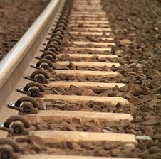 Free Railway Track Royalty Free Stock Photos - 23451218