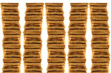 Stack Of Cookies Royalty Free Stock Photo