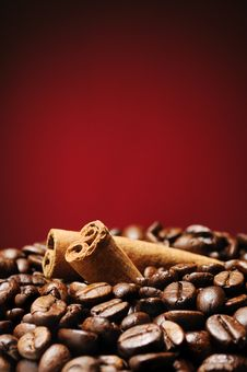 Free Coffee And Cinnamon Stock Photography - 23453462