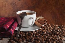 Free Hot Coffee Royalty Free Stock Photos - 23457618