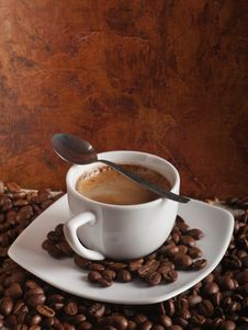 Free Hot Coffee Royalty Free Stock Photography - 23459167