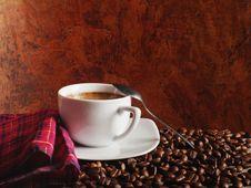 Free Hot Coffee Royalty Free Stock Photo - 23459195