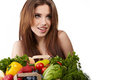 Free Vegetable Shopping Royalty Free Stock Photography - 23466027
