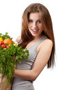 Free Vegetable Shopping Royalty Free Stock Photography - 23466197