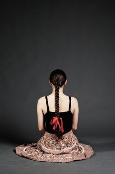Free Girl With Skirt Stock Photo - 23460320