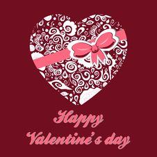 Free Valentine Background Stock Image - 23460381