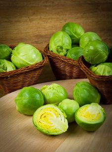 Free Brussels Sprout Stock Images - 23461624