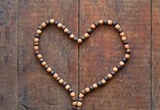 Free Wooden Heart Royalty Free Stock Photography - 23463757