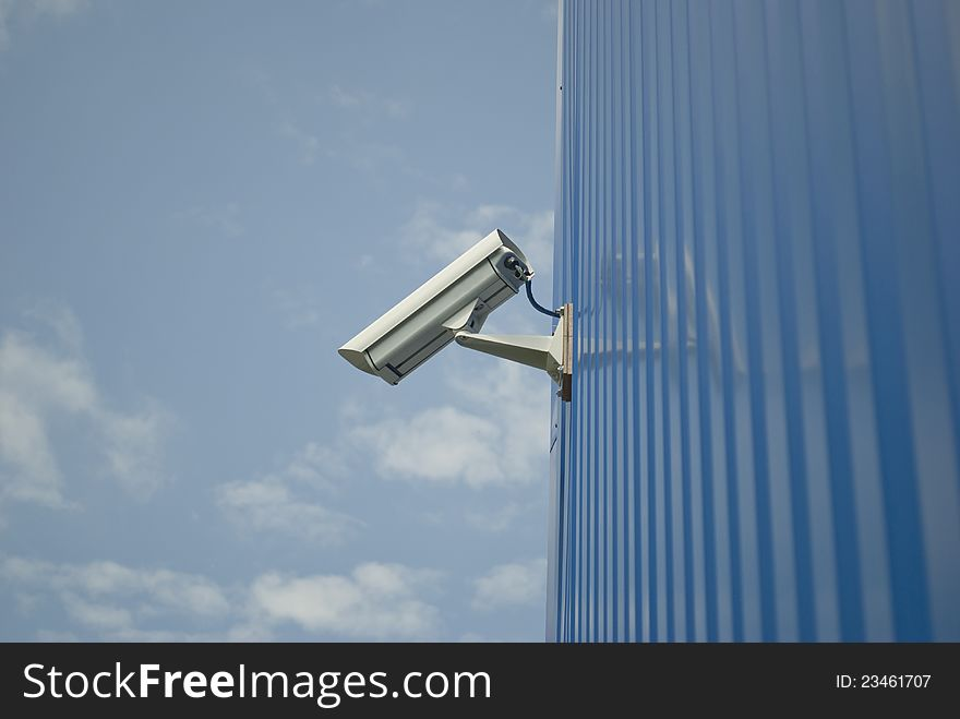Outdoor Video Surveillance - Free Stock Images & Photos - 23461707