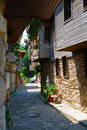 Free Street Of The Old Town. Nessebar.Bulgaria. Stock Image - 23470131