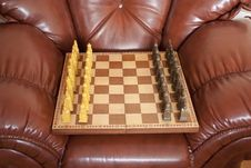 Free Chess With A Board Stock Photo - 23470590