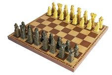Free Placed Chess On A Wooden Board Royalty Free Stock Photography - 23470627