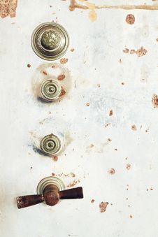 Free Vintage Safe Door Texture Royalty Free Stock Photo - 23472565