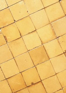 Free Vintage Tile Floor Royalty Free Stock Photos - 23472598