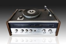 Free Vintage Record Player Royalty Free Stock Photos - 23474208