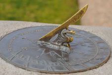 Free Sundial Royalty Free Stock Images - 23474299