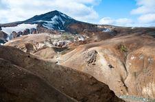 Rainbow Mountains, Iceland Stock Photos