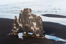 Free Hvitserkur Rock, Tourist Site In Iceland Stock Photos - 23478893