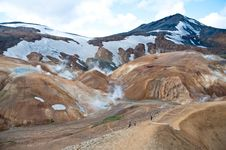 Free Landmannalaugar Rainbow Mountains, Iceland Stock Image - 23478901