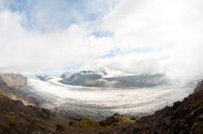 Free Mountain Valley Glacier Royalty Free Stock Photos - 23478918
