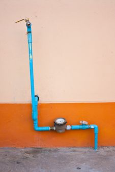 Free PVC Water Pipes Royalty Free Stock Image - 23478986