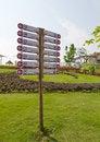Free Information Street Signpost Royalty Free Stock Photo - 23481755