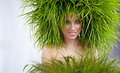 Free Woman, Green Concept Royalty Free Stock Photography - 23482597