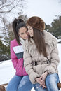 Free Winter Dress Up Stock Photography - 23485342