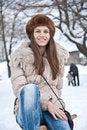Free Winter Girl Royalty Free Stock Image - 23485446
