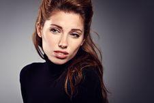 Free Woman Portrait Studio Shot Royalty Free Stock Photography - 23481307