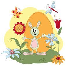 Free Easter Greeting Card Stock Photography - 23483402