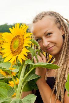 Free Beautiful Girl With Dreadlocks Stock Image - 23483931