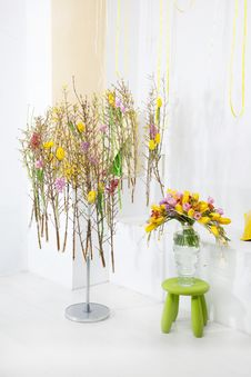 Floristry - Beautiful Floral Concept Stock Photography