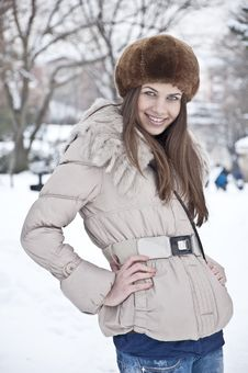 Free Winter Dress Up Royalty Free Stock Images - 23485179
