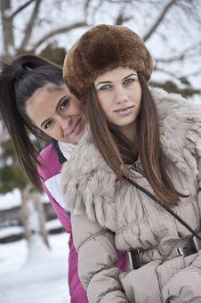 Free Winter Dress Up Royalty Free Stock Image - 23485306