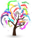 Free Colorful Tree Stock Photos - 23496893