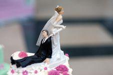 Free Wedding Couple Royalty Free Stock Images - 23493229