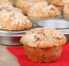 Nut Muffins Royalty Free Stock Photo